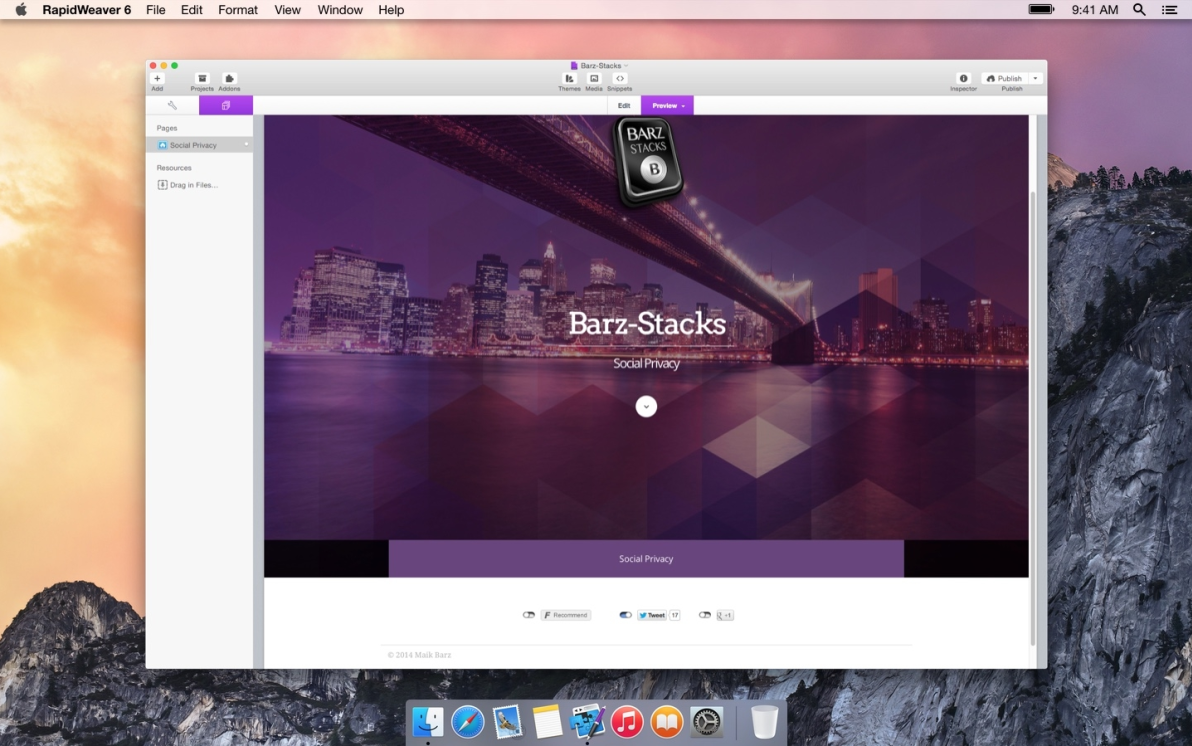 Social Privacy screenshot