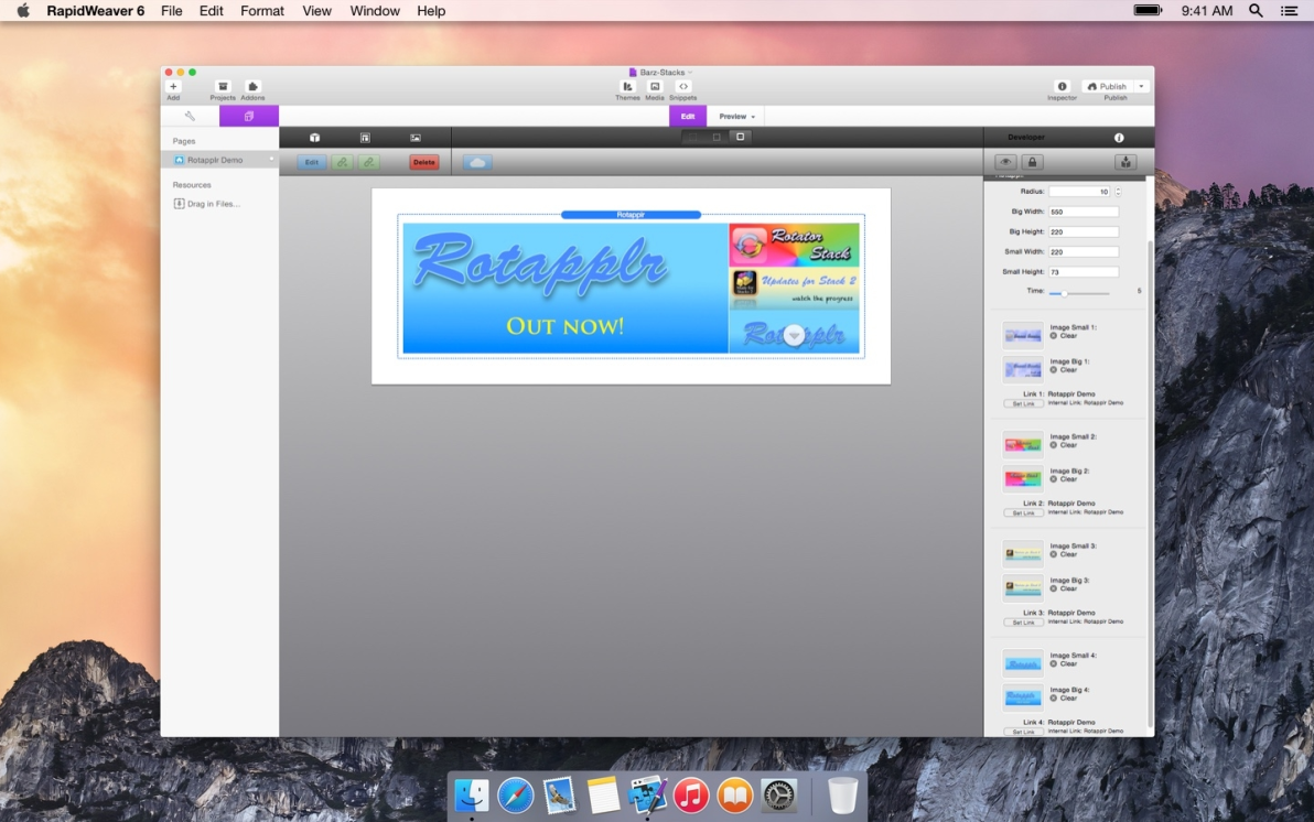 Rotapplr screenshot