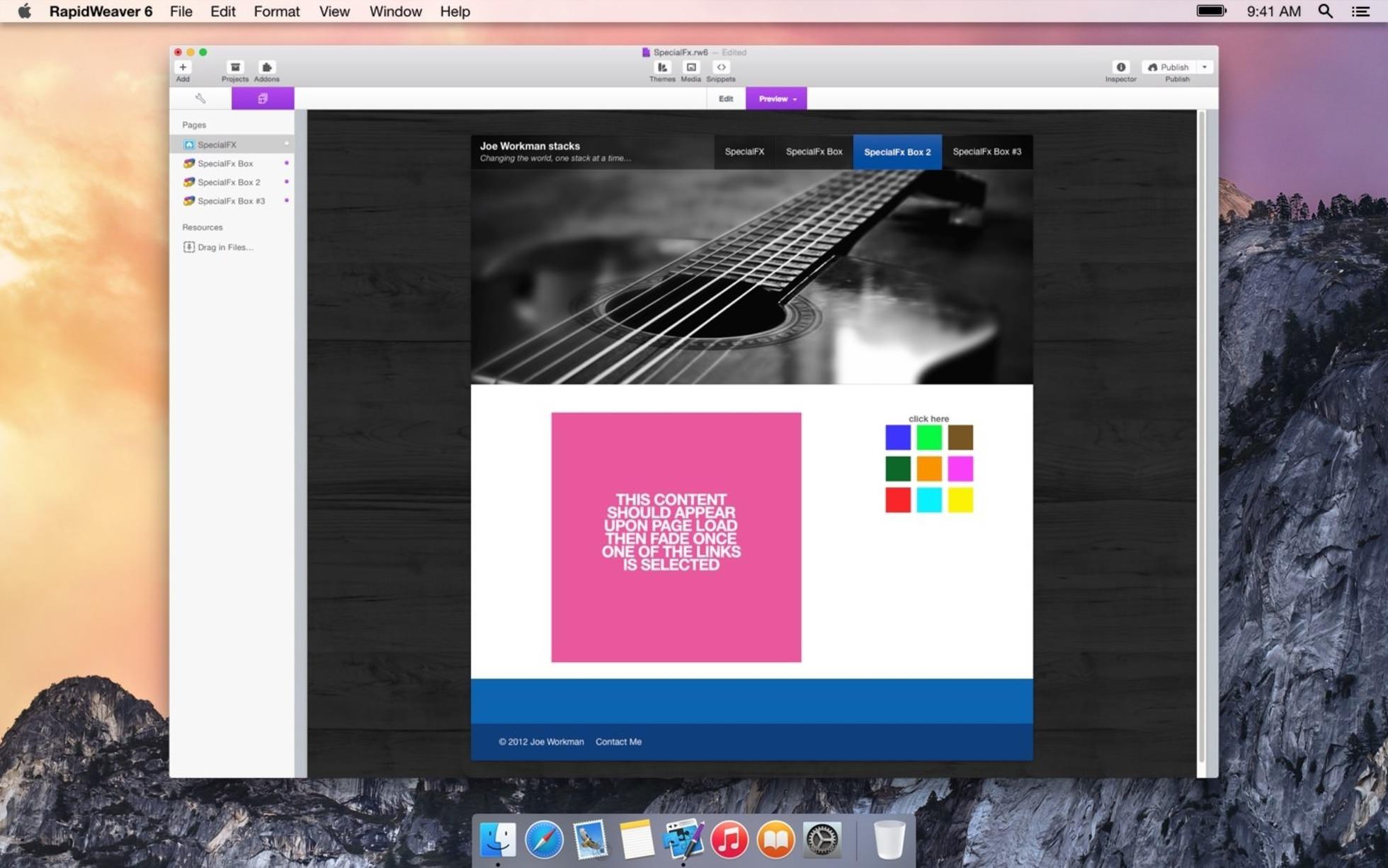 SpecialFx screenshot