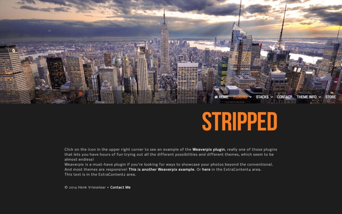 Stripped screenshot
