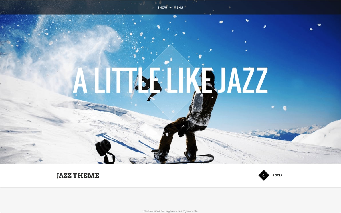 Jazz screenshot