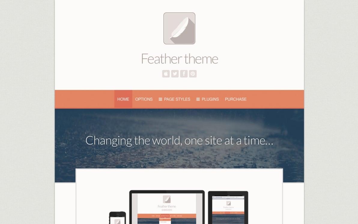 Feather screenshot