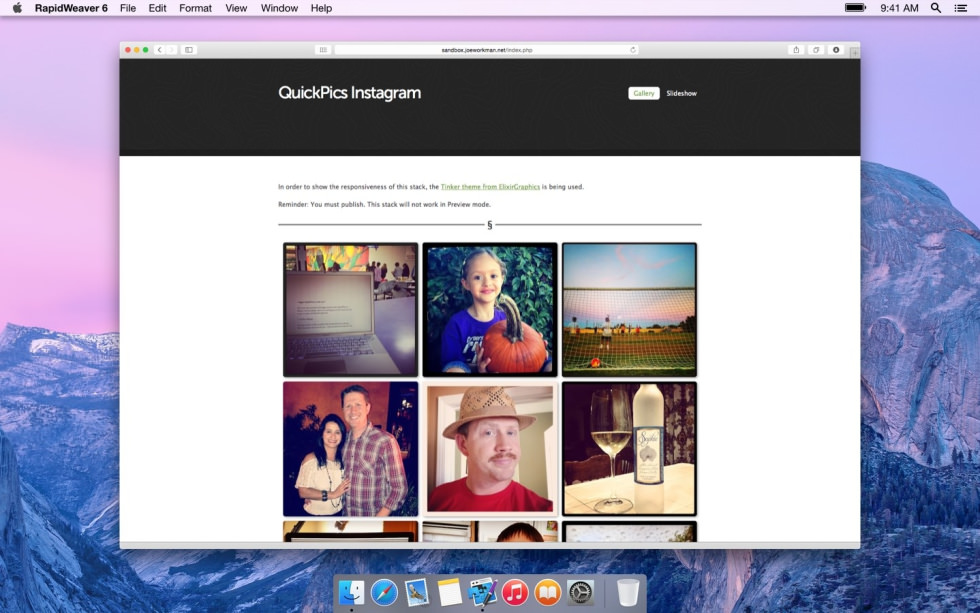 QuickPics Instagram screenshot