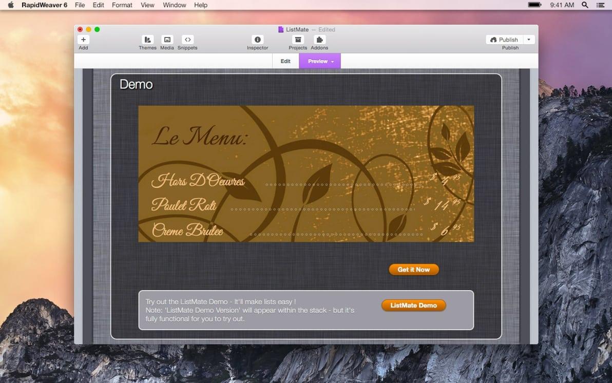 ListMate screenshot
