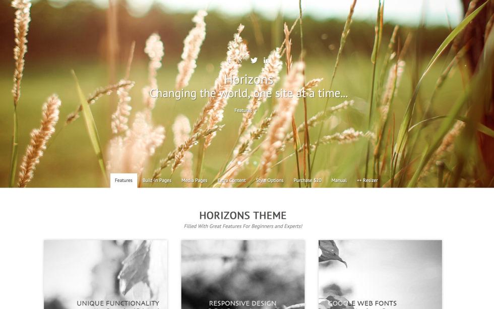 Horizons screenshot