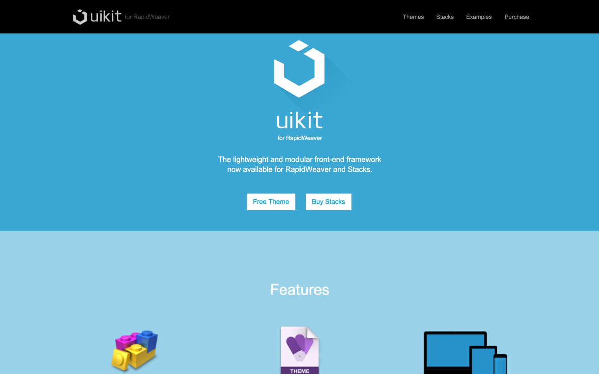 UIkit screenshot