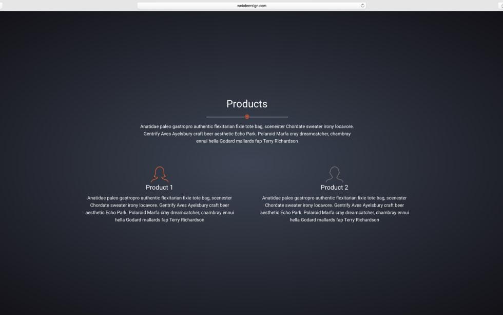 WDS Project 2 screenshot