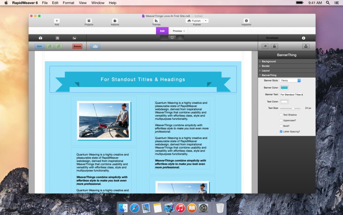 BannerThing screenshot