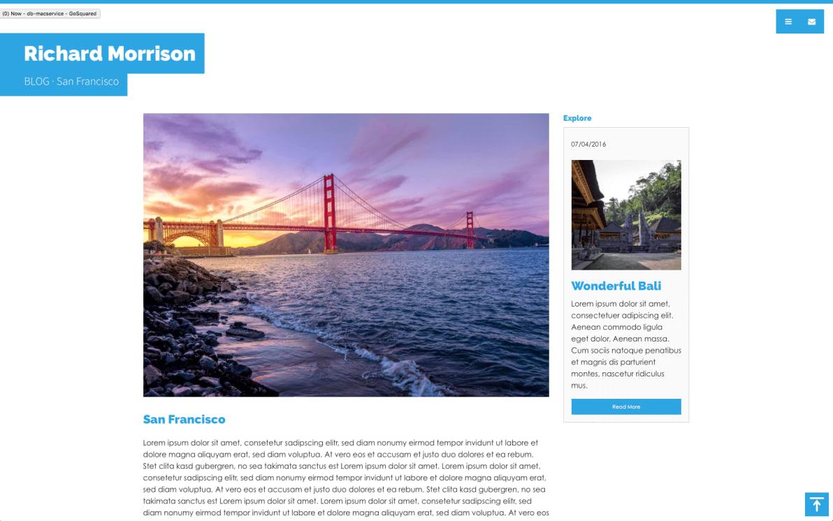 Photostories Travel screenshot