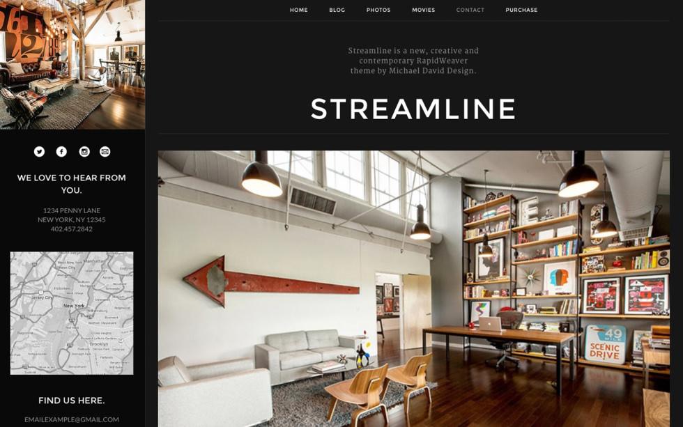 Streamline screenshot
