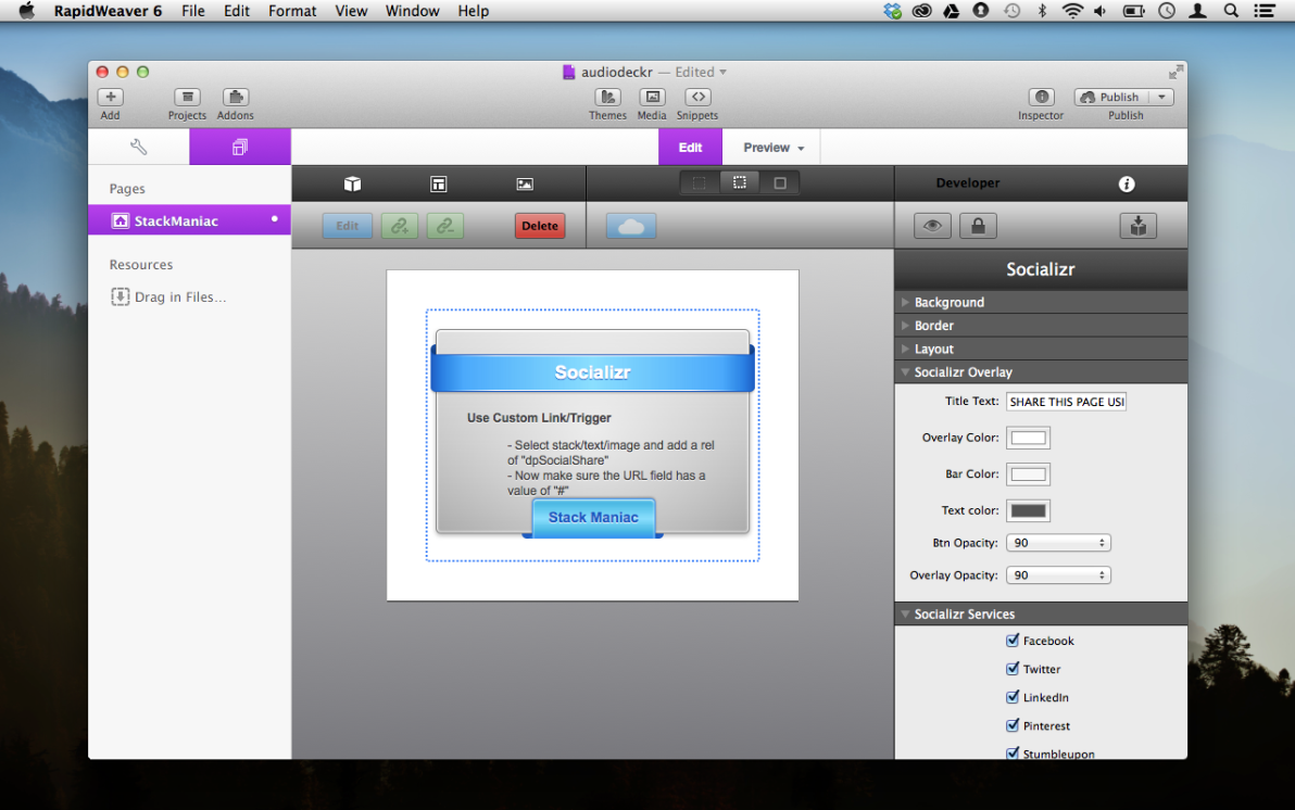 ShareStack screenshot