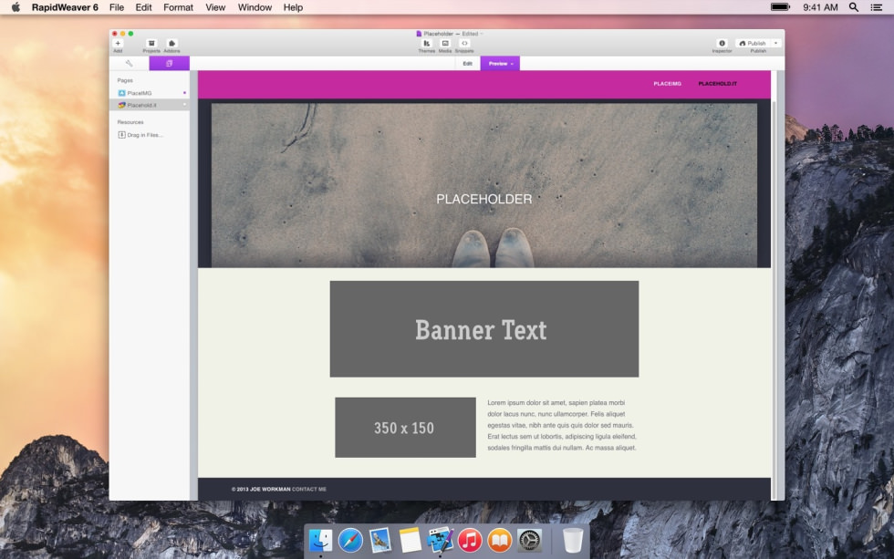 Placeholder screenshot