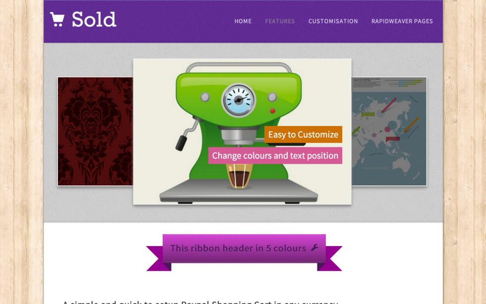 Sold screenshot