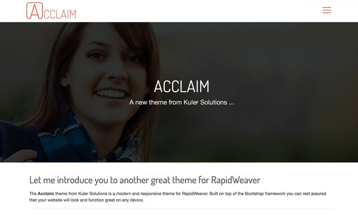 Acclaim screenshot