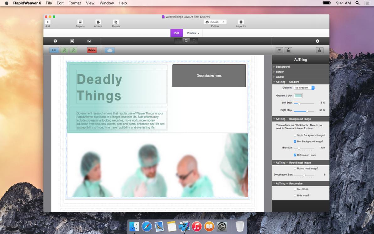 AdThing screenshot