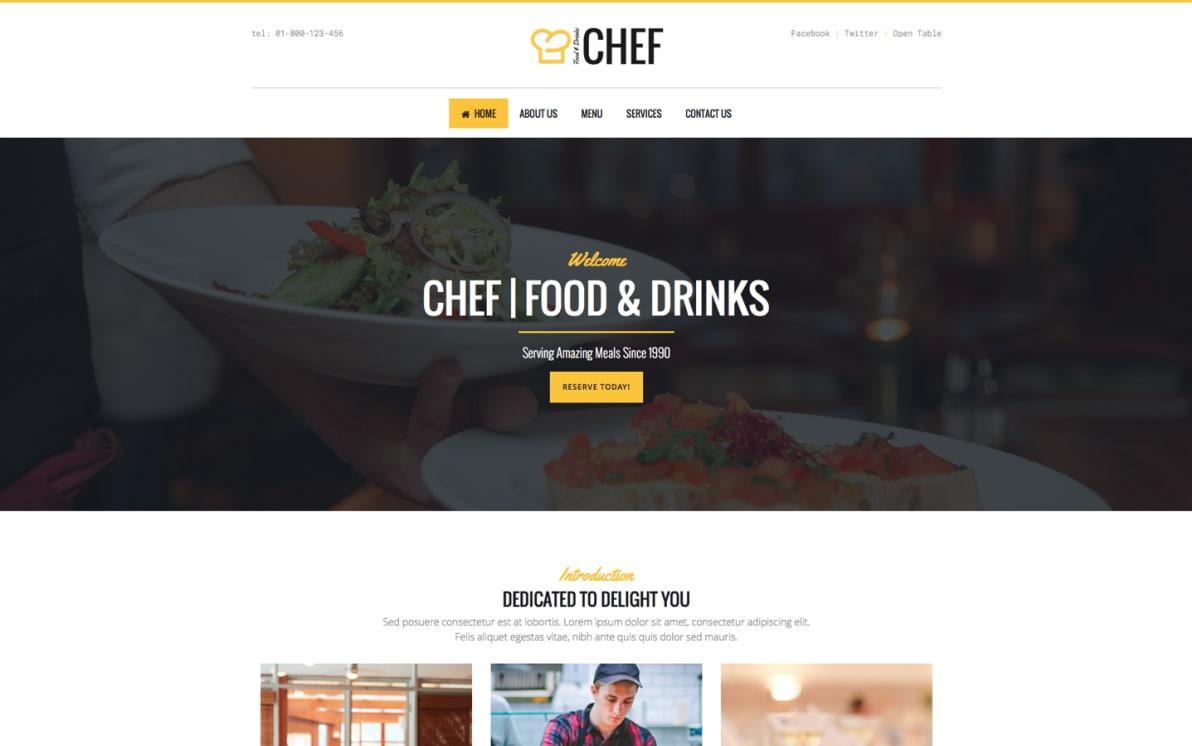 Chef screenshot