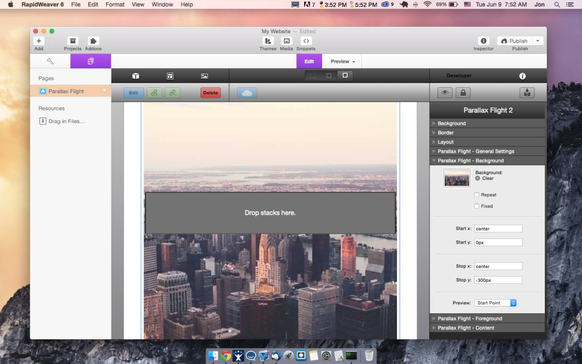 Parallax Flight screenshot