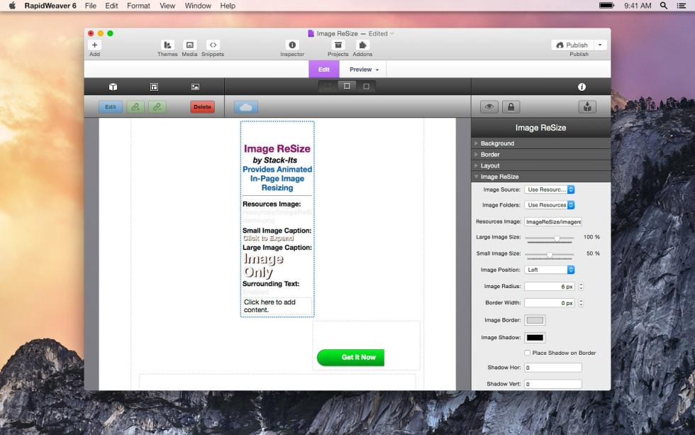 Image ReSize screenshot