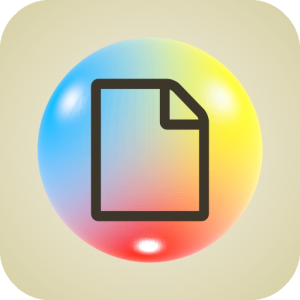 Simple Background Gradient stack icon
