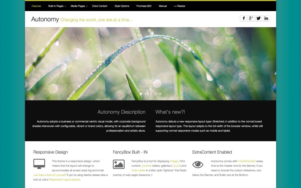 Autonomy screenshot
