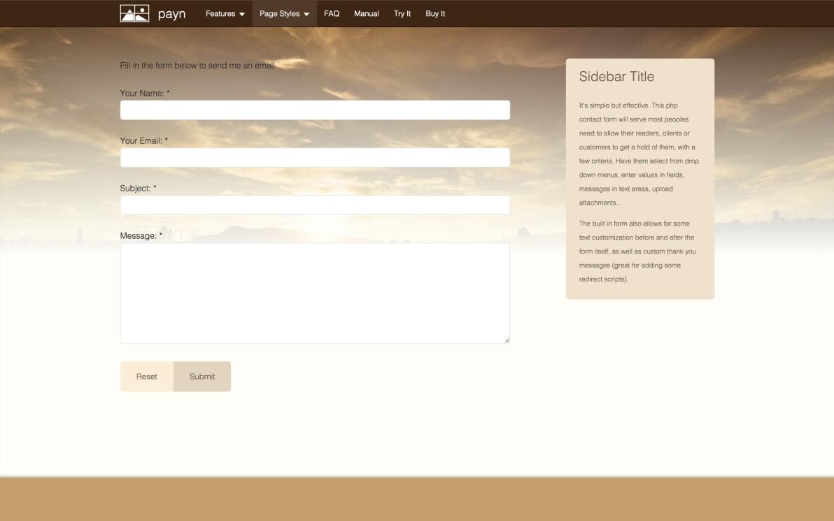 seyDesign payn screenshot