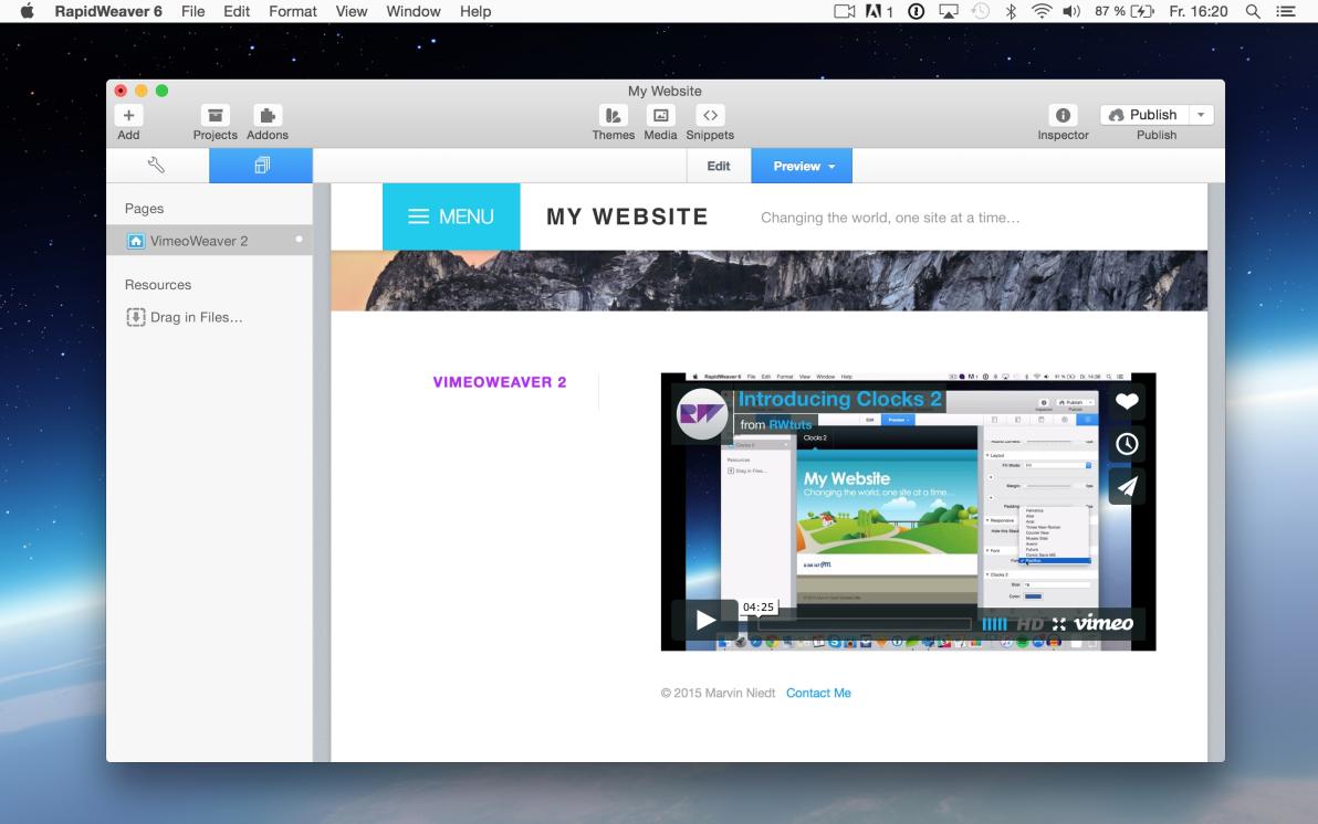 VimeoWeaver 2 screenshot