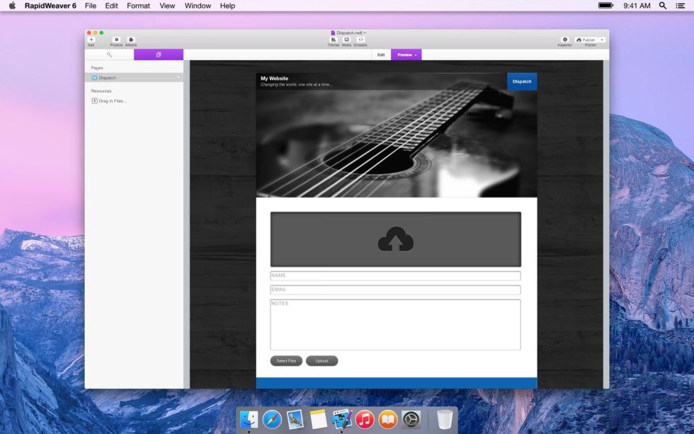 Dispatch Amazon S3 screenshot