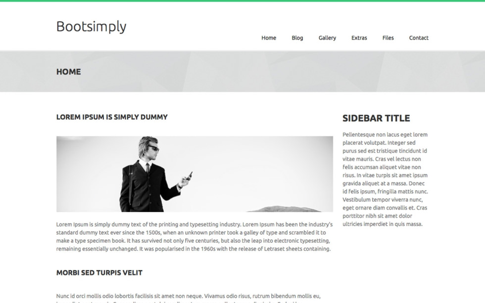 Bootsimply screenshot