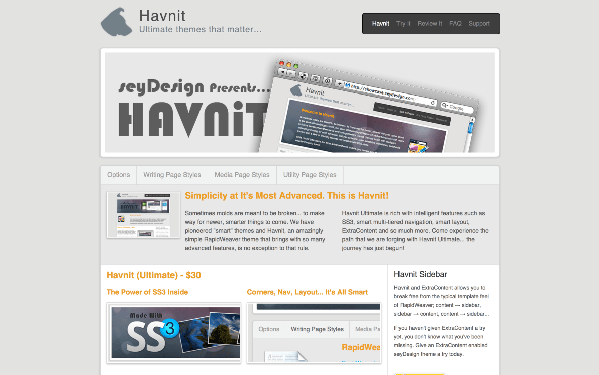 seyDesign Havnit screenshot