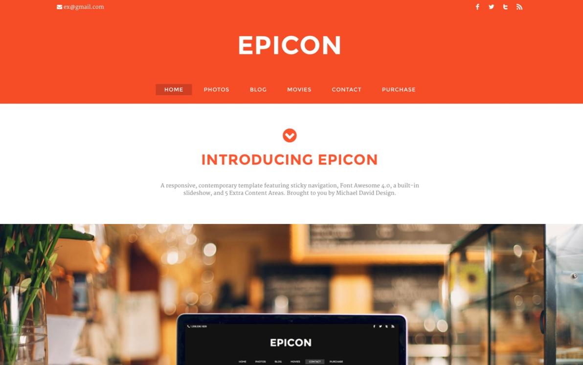 Epicon screenshot
