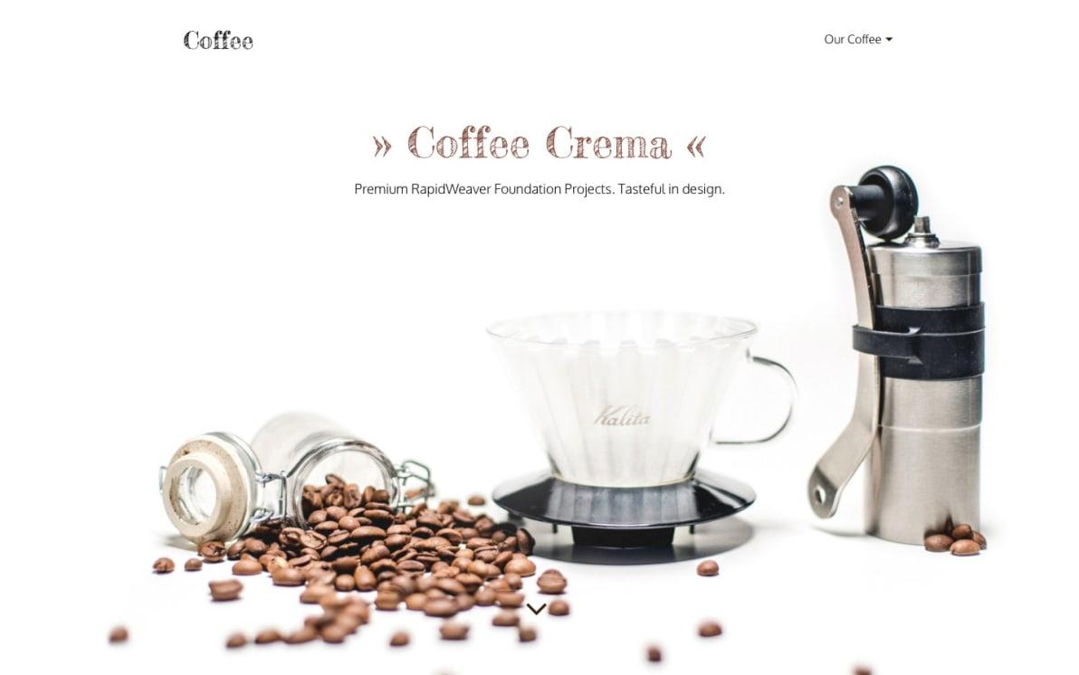 Coffee screenshot