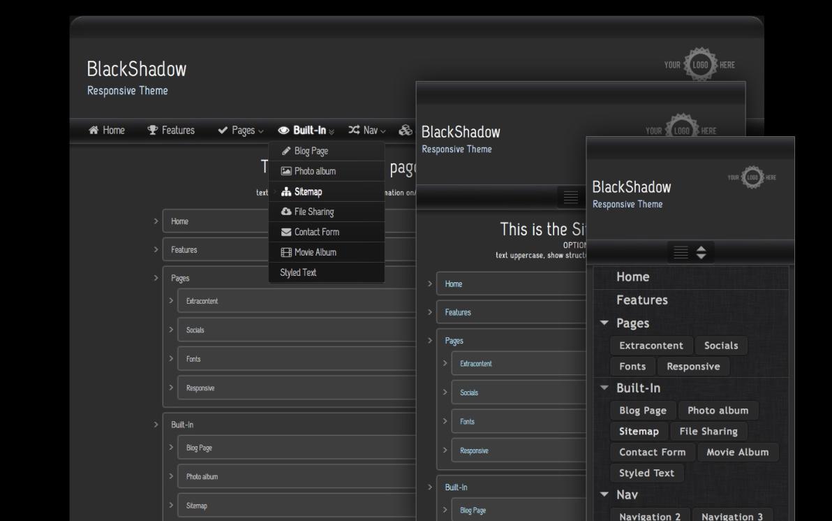 Black Shadow screenshot