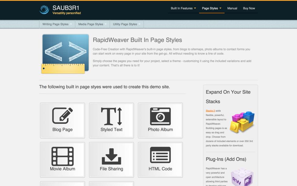 seyDesign SAUB3R1 screenshot