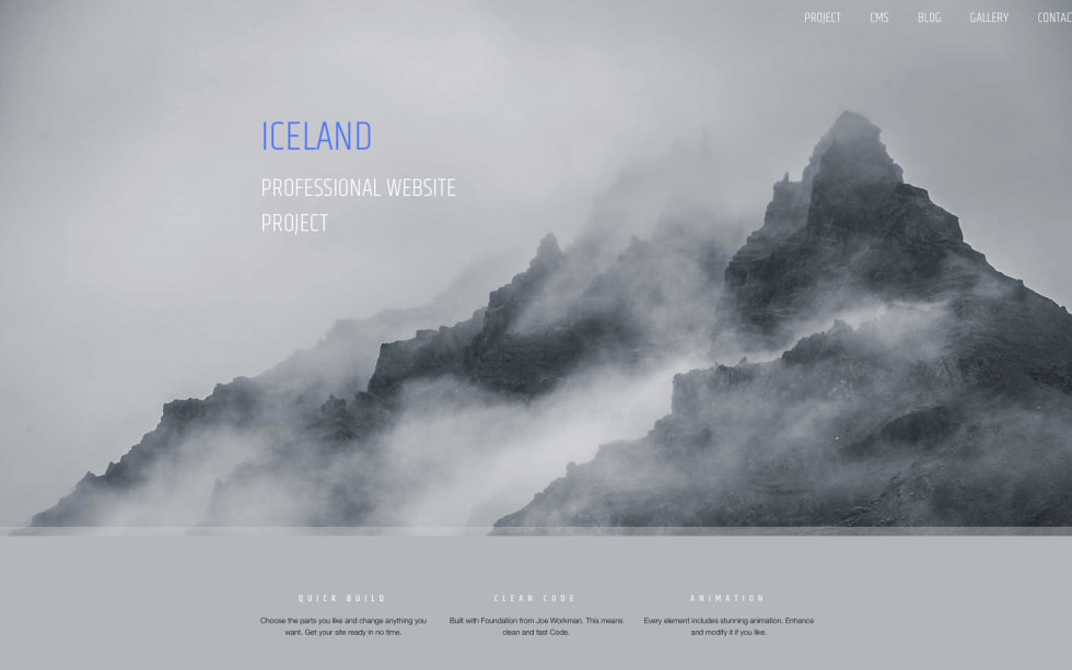 Iceland screenshot