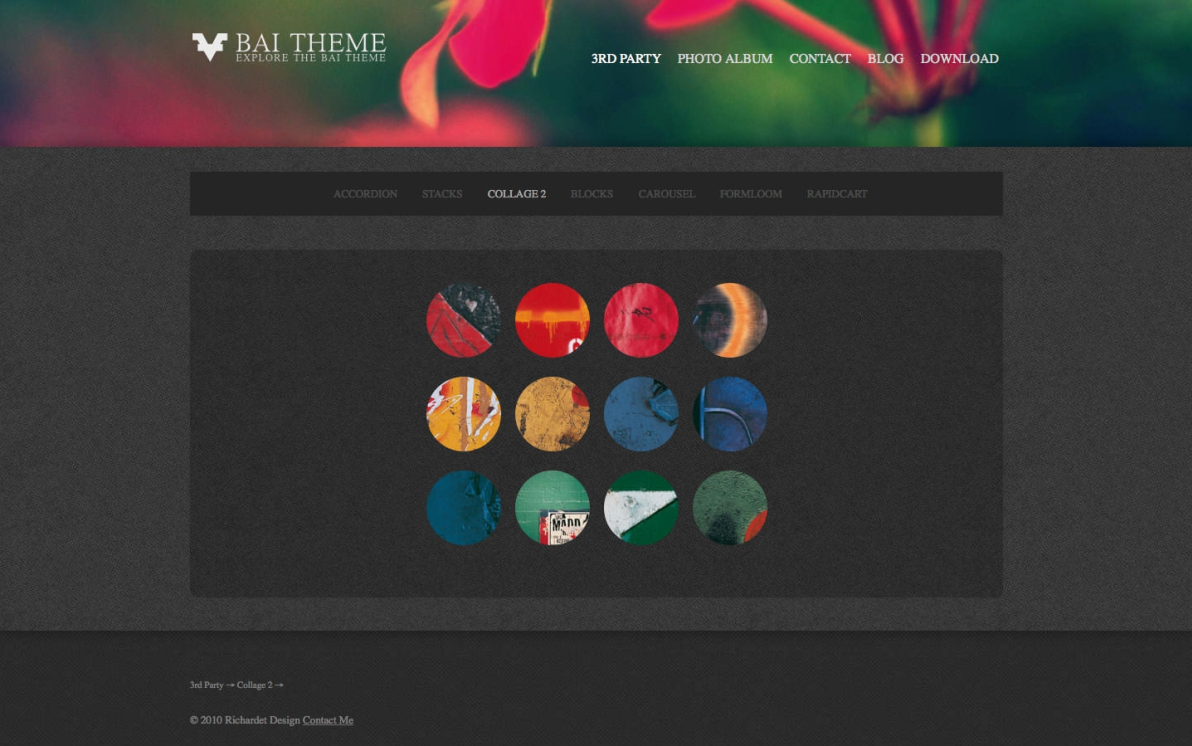 BAI Theme screenshot
