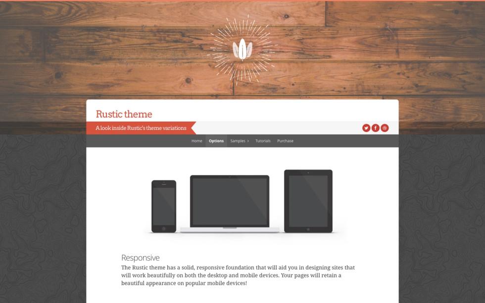Rustic screenshot
