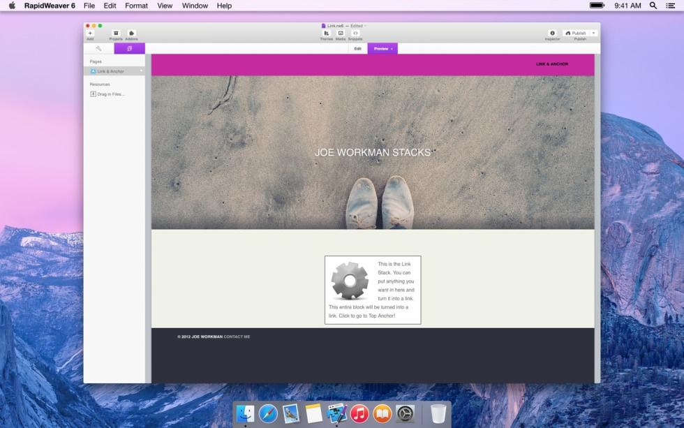 Link & Anchor screenshot
