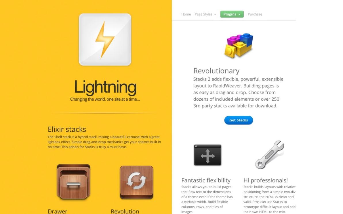 Lightning screenshot