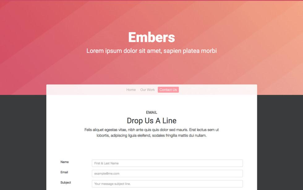 Embers screenshot