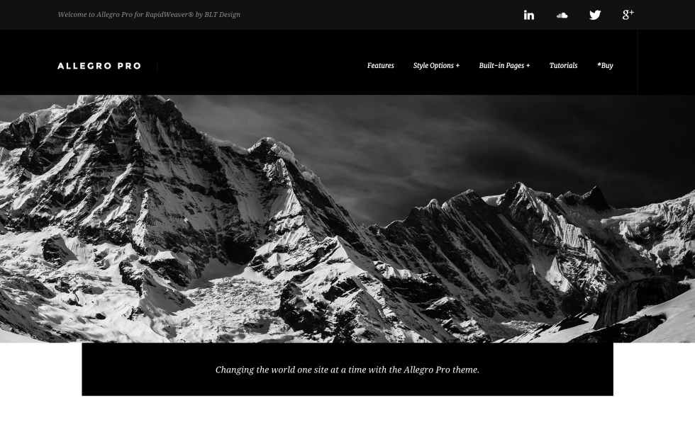 Allegro Pro screenshot