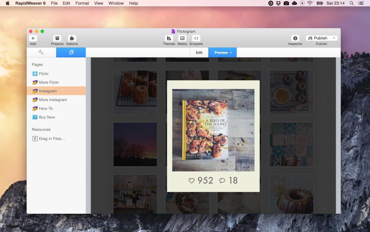 Flickrgram screenshot