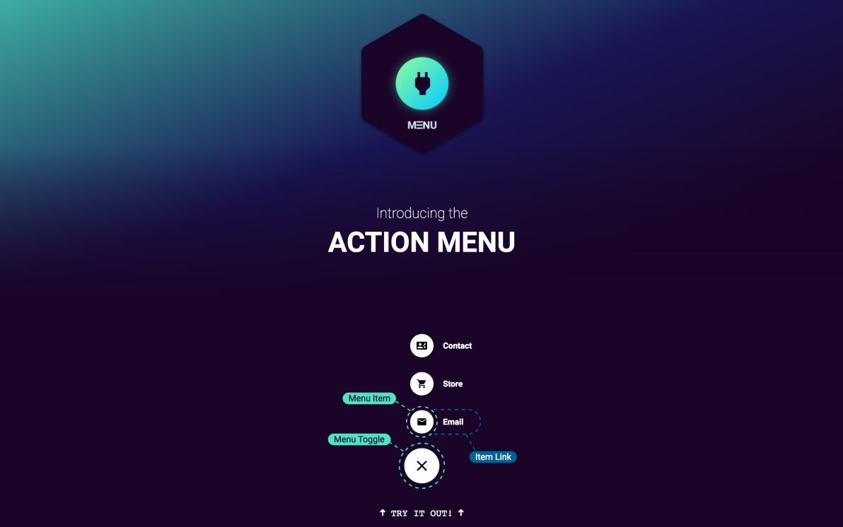 Action Menu screenshot
