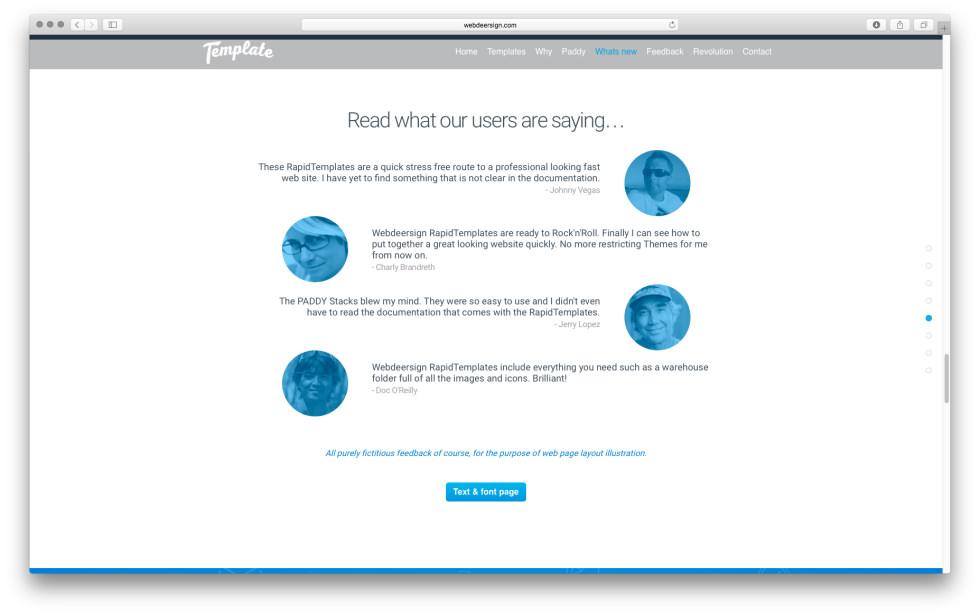 WDS Template 4 screenshot