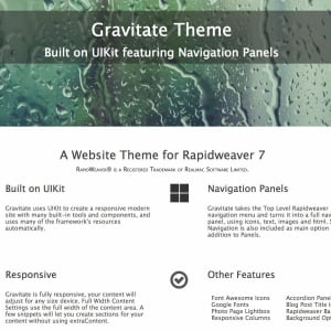 Gravitate Theme icon