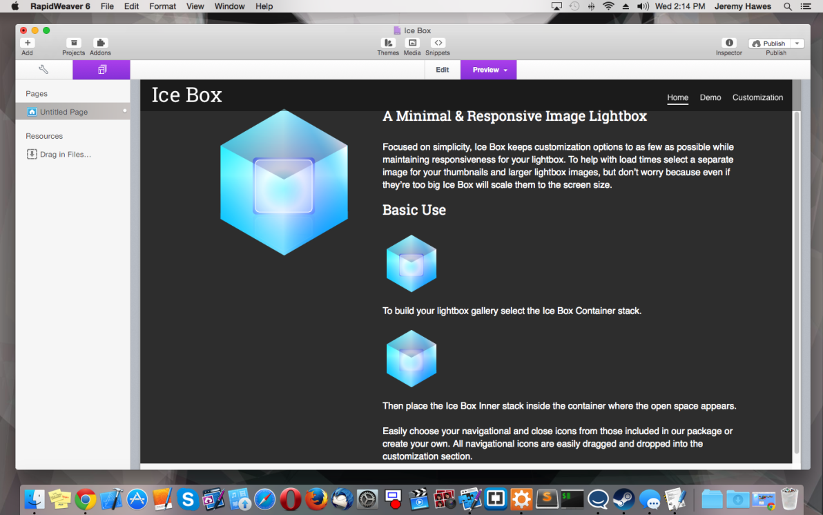 Ice Box screenshot
