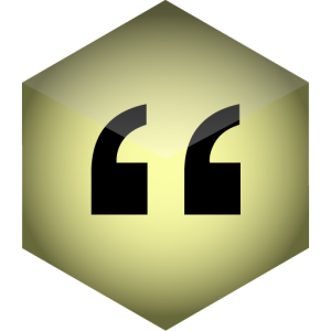 cleanQuotes icon
