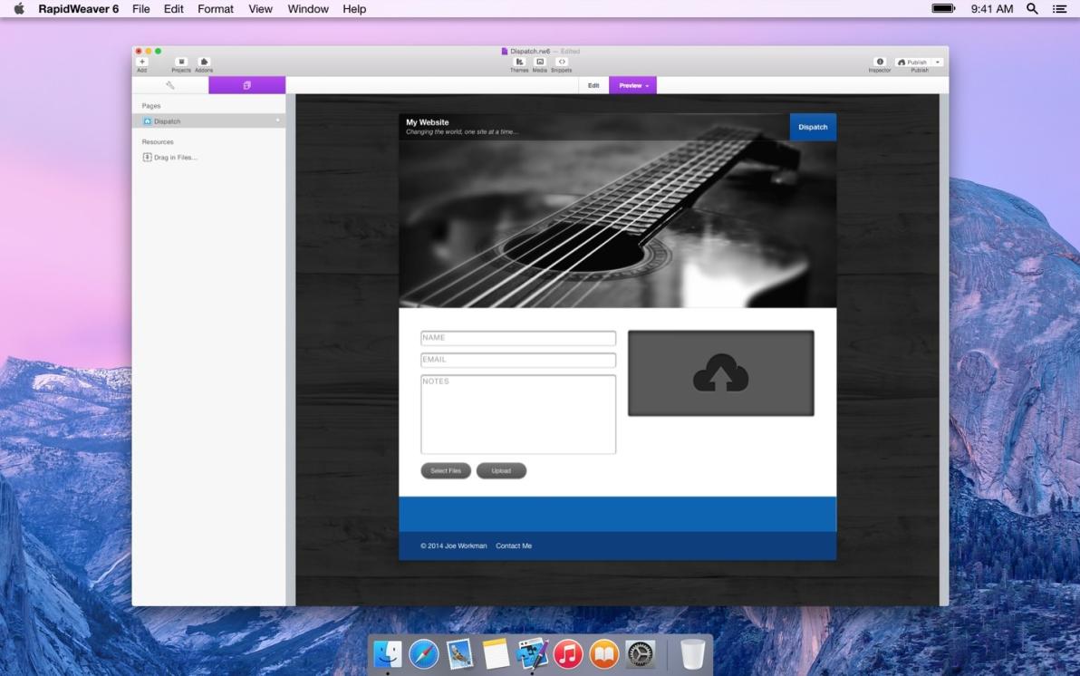 Dispatch Dropbox screenshot