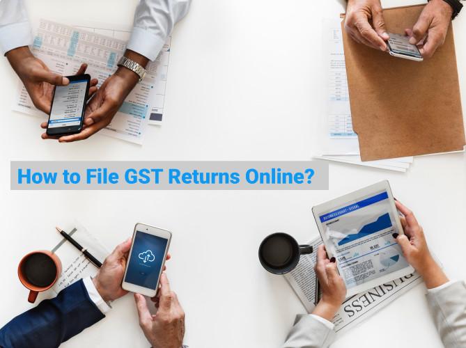 How to File GST Returns Online? 123gst com