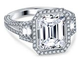 .75 ctw $3590 Split Shank Diamond Ring Setting