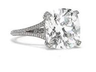 .25 ctw $1600 Pave Engagement Ring